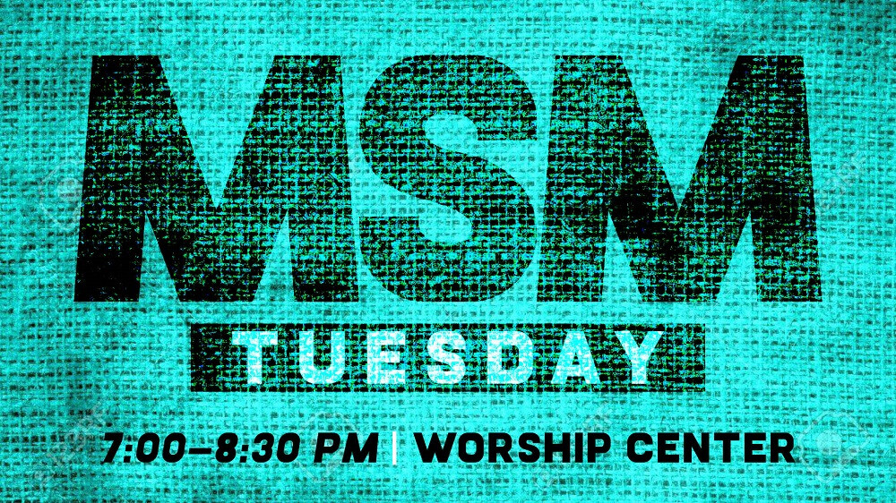 Middle School MSM Tuesday Winter/Spring 2019