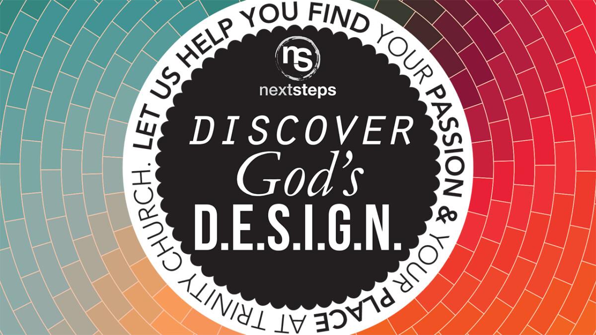 Discover God's D.E.S.I.G.N.