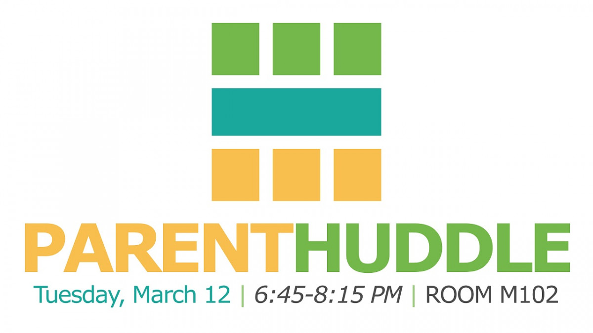Student Ministry Dad Huddle
