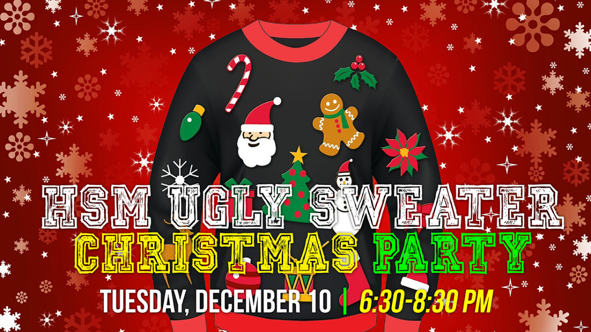 High School Ugly Sweater Christmas Party 2019