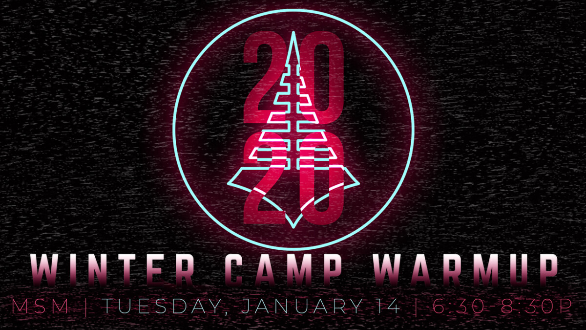 Middle School Winter Camp Warm-up 2020