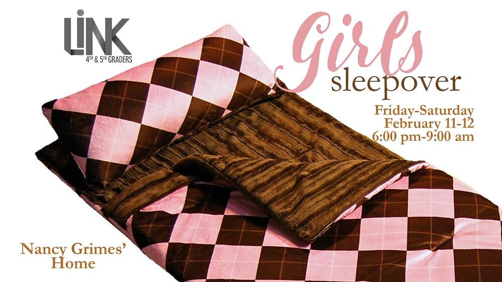 Kids LINK Girls Sleepover