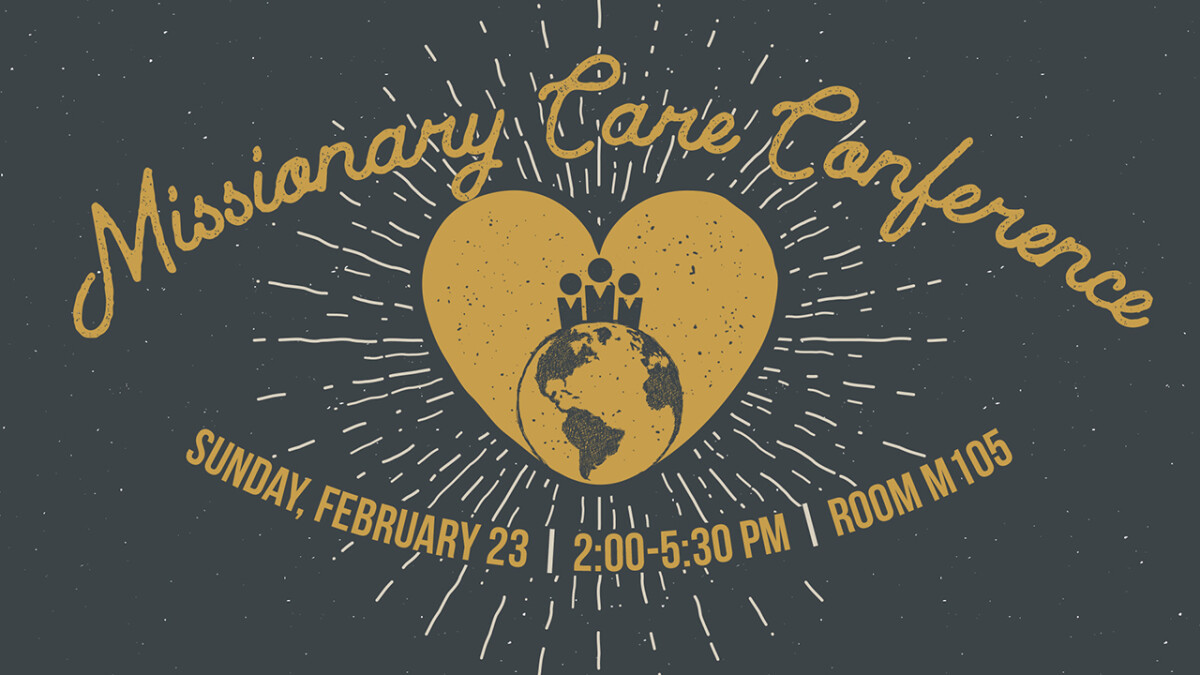 Missionary Care Conference 2020