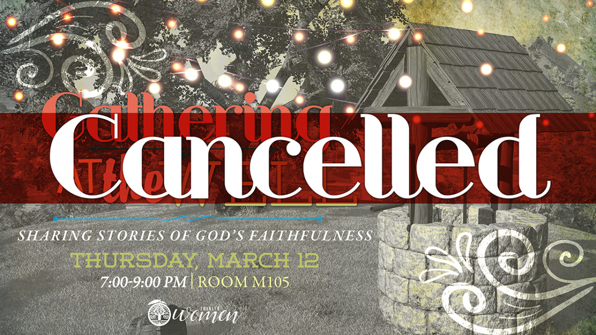 Women's Gathering at the Well CANCELLED