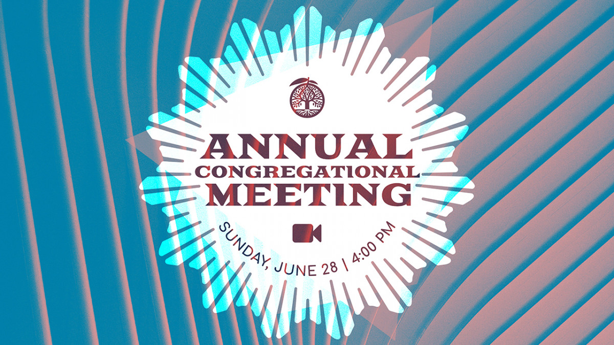 Annual Congregational Meeting - 2020