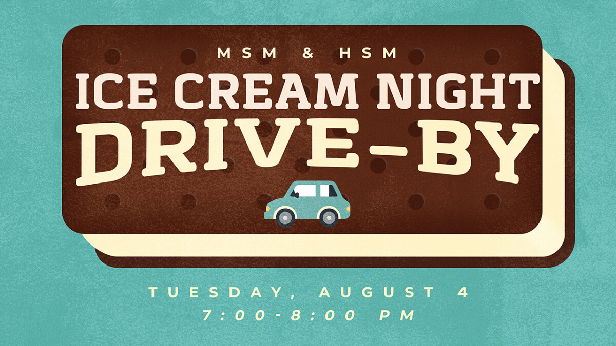 Students Ice Cream Drive-by
