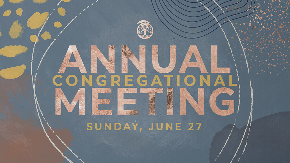 Annual Congregational Meeting - 2021