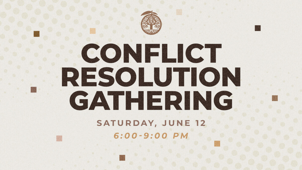 Conflict Resolution Gathering